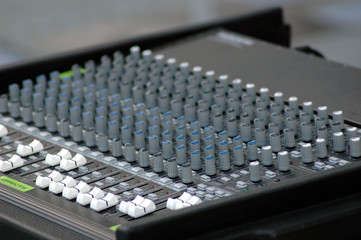 music console