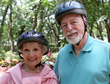 active senior couple poster