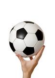 conceptual soccer poster