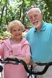 happy active seniors poster