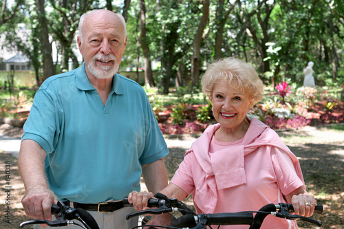 active senior bikers