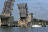 draw bridge & sailboat poster
