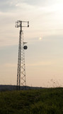 grass base cell tower poster