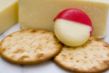 cheese and crackers poster