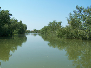 delta of danube.