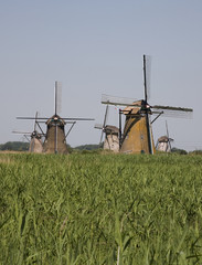 dutch windmills in kinderdijk 9