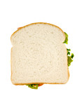 isolated sandwich poster