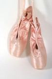 new ballet slippers hanging poster