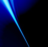 needle of laser poster