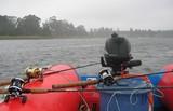 fishing in the rain poster