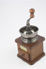 coffe grinder isolated