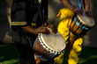 Leinwanddruck Bild - african drummer