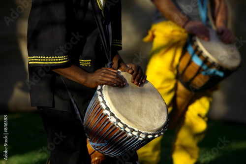 afrykański perkusista