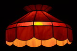 stained glass lamp poster