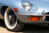 classic sport car poster