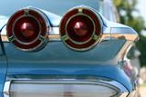 classic american car detail poster