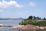 beaver dam and toronto skyline poster