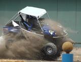 dune buggy landing poster