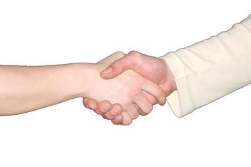 serrrement de main 2