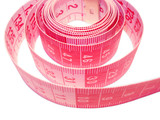 metric measuring tape (coiled 1) poster