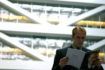 business man with laptop 22