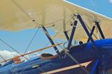 light aircraft cockpit poster