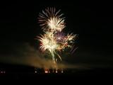 big fireworks blast poster