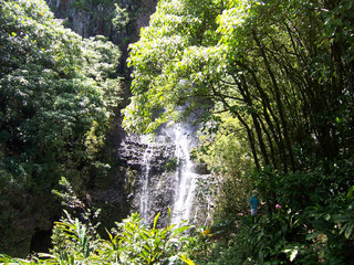 hawaian waterfalls - 2