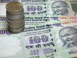 indian currency poster