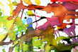 Quadro vivid abstract expression