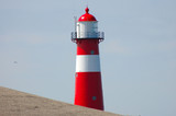 leuchtturm in holland poster