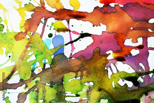 vivid abstract expression