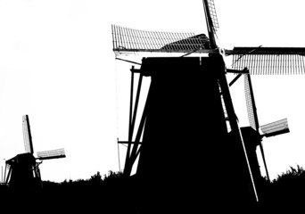 dutch windmills in kinderdijk 11