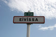 eivissa - road sign in ibiza - 862551