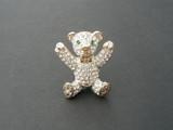 teddy bear brooch poster