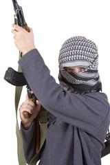 realistic terrorist clipping path!