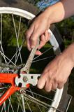 repair of bicycle poster