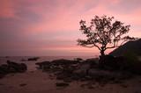 romantic sunset poster