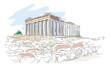 world landmarks - acropolis