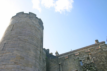stirling castle tower in scotland