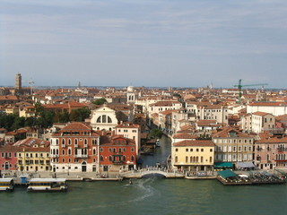 buildings of venice