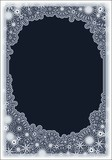 lace frame poster