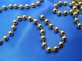 golden beads poster