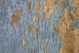 weathered painted wood poster