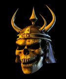 demon warmonger skull poster