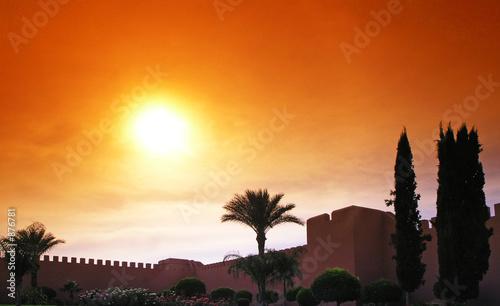 remparts de marrakech