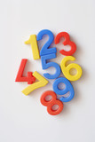 number fridge magnets poster