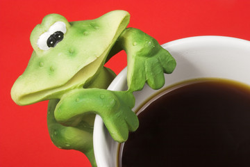 coffe frog