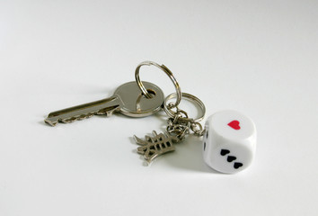 key on keyring