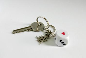 key on keyring
